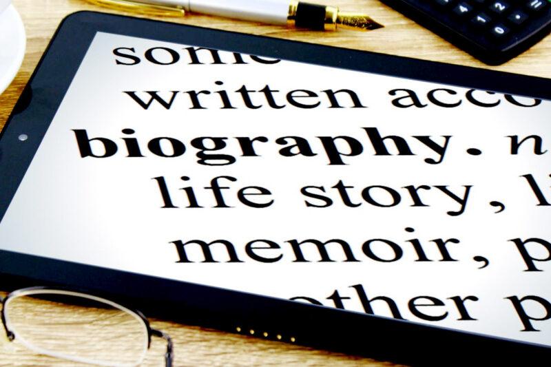 Pengertian Biografi