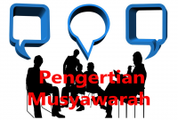 Pengertian Musyawarah