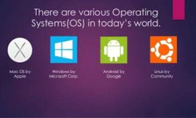 jenis dan macam sistem operasi