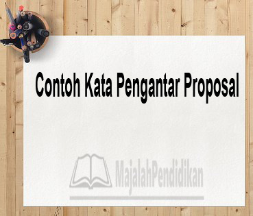 Contoh Kata Pengantar Proposal