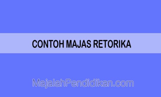 Contoh Majas Retorika