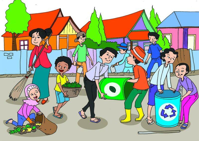 Kunci Jawaban Tema 1 Kelas 4 Halaman 88 Tong Sampah Gotong Royong