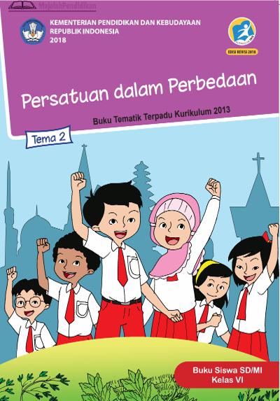 Kunci Jawaban Tema 2 Kelas 6 SD/MI (Halaman 109) Semboyan Bersatu Kita Teguh Untuk Persatuan dan Kesatuan