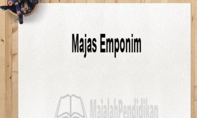 Majas Emponim