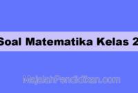 Soal Matematika Kelas 2