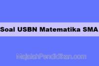 Soal USBN Matematika SMA