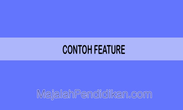 contoh feature