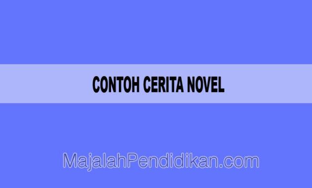 Contoh Cerita Novel