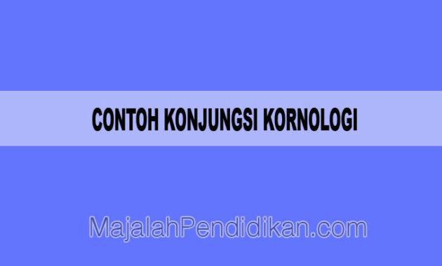Contoh Konjungsi Kornologi