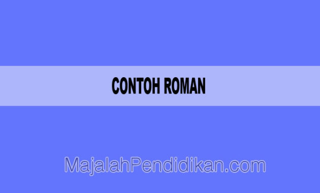 Contoh Roman