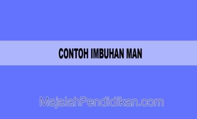 contoh imbuhan man