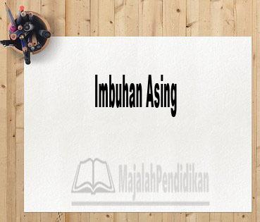 Imbuhan Asing