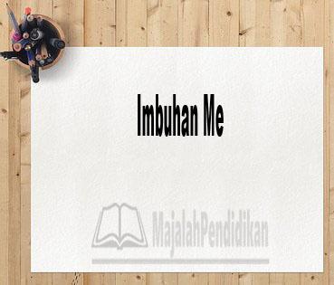 Imbuhan Me
