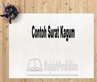 Contoh Surat Kagum