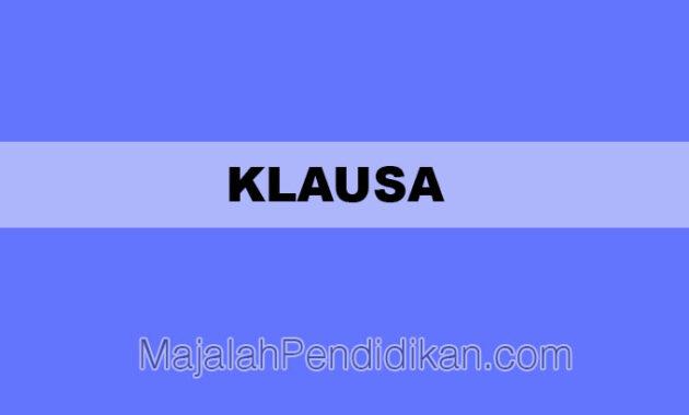 Klausa