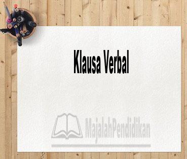 Klausa Verbal