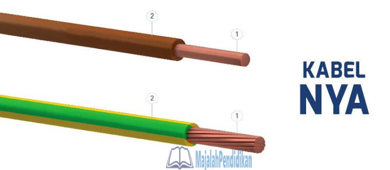 ukuran kabel listrik serabut
